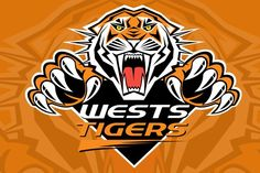 Show your support for the Wests Tigers! #nrl #rugby #australia