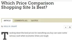 Which #Price #Comparison #Shopping Site Is Best? #shopping #financial #smartmoney
