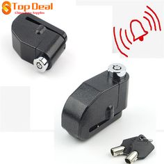 New Arrival 100DB Motorcycle Bicycle Pit Bike Scooter Anti-theft Disc Brake Wheel Alarm Lock