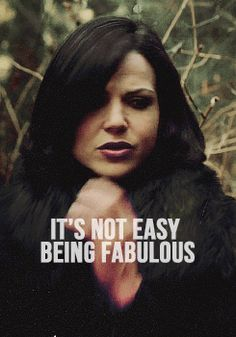 "Lana Parrilla as Regina from the TV Show ""Once Upon A Time"". ha ha! : ) Retaliation to ""It's Not Easy Being Green"""