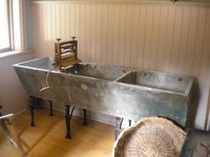 Trying To Find An Era Authentic Triple Compartment Sink Made Of Original  Soapstone Was A Serious