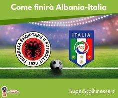 [INDOVINA IL RISULTATO] COMMENTA con il tuo pronostico sul risultato esatto della gara  #italia #albania #azzurri #fifa #worldcup #mondiali2018 #russia2018
