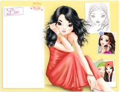 liv Outfit Zusammenstellen, Drawings Of Friends, Cartoon People, Girly Pictures, Wonder Woman, Gowns, Beauty, Formal Dresses, Cute