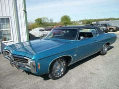 1969 Chevrolet IMPALA SS 427 - like mine. Did a bunch of work on it after many visits to junk yard. My sister-in-law helped me remove some parts at a self serve junkyard with a nail file once...no easy feat,