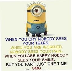 Today 20 Minion Quotes Funny Minion Pictures, Funny Minion Memes, Minions Quotes, Funny Images, Funny Photos, Minion Sayings, Really Funny Memes, Stupid Funny Memes, Funny Relatable Memes