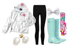 rainy day by the-southern-prep on Polyvore featuring polyvore, moda, style, Influence, Hunter and Lilly Pulitzer