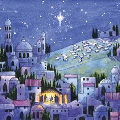 Bethlehem Christmas Cards | xmas card bethelehem | Nanny's Christmas Cards: Star of Bethlehem ...