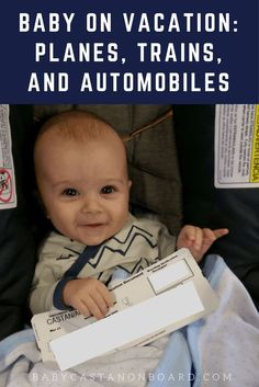 There is a lot to think about when planning a trip with a baby. Here are some tips for traveling with a baby by plane and cab/uber.