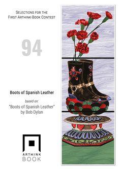 "Arthink editions (@ArthinkEditions) | Twitter  #VinylArthink contest  entry 94    ""Boots of Spanish Leather""  based on:   ""Boots of Spanish Leather""   by Bob Dylan    https://www.youtube.com/watch?v=jxodxUREFFY    #arthinkeditions #arthink #contest #entry #art #illustration #boots #spanish #leather #bobdylan #bob #dylan"