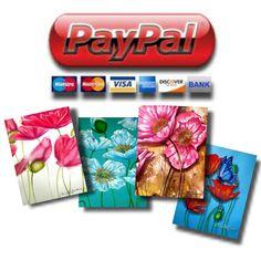 Reusable Art for a Dollar!!! #cards #poppy #poppyart #bargain