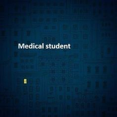That only one turns out to be a med student