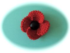 FUNDRAISER POPPY FOR POPPY DAY  Free Patter by By Wendy Poole