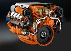 Diesel Engine Turbocharged 5 Cylinder 4 Stroke Series Diesel Engine For ~ Rebuu. Motor A Diesel, Diesel Cars, Diesel Engine, Diesel Vehicles, Gear Head Tattoo, Head Tattoos, Caterpillar Equipment, Cylinder Liner, Scania V8
