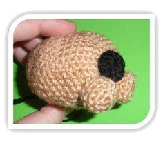 Patrones Amigurumi - Tutoriales: Cómo tejer diferentes formas de cabezas amigurumi Merry, Kawaii, Amigurumi Doll, Tricot, Dolls, Rabbit Head, Knit Shawls, Felt Animals, Wool Yarn