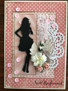 Confirmation Cards, Junk Journal, Doilies, Projects To Try, Birthdays, Card Making, Frame, How To Make, Inspiration