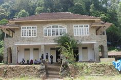 "On set in Malaysia: ""Chotipool,"" childhood home to siblings Ralph and Alice Whelan, as seen on Indian Summers 