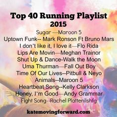 Such a fun list of upbeat songs!! Can't wait to play it on my run tonight!