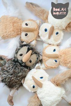 cute owl soft toys