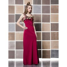 by Gio Rodrigues Ceremony long dress crepe