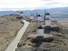 Los molinos de Consuegra (Toledo)