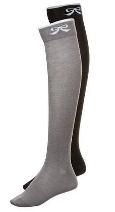 Even&odd 2 Pack Calcetines Por Encima De La Rodilla Black Grey calcetines La Rodilla Grey Even&Odd Calcetin black 2 Pack Noe.Moda