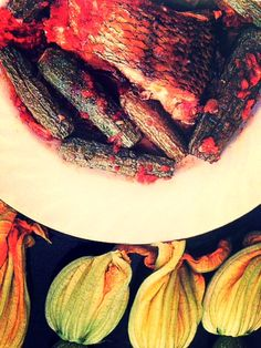 courgettes with fish