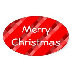 Merry Christmas Red Tartan Oval Sticker by Janz Christmas Stickers, Red Christmas, Custom Stickers, Sticker Design, Tartan, Graphic Design, Cards, Photography, Personalized Stickers