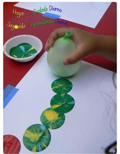 Balonlu boyama