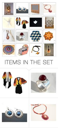 """""""Great Shops on Etsy"""" by glowblocks ❤ liked on Polyvore featuring art"""