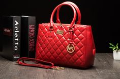great!!red m-k handbag,micheal kors bags I like it! 36.00 shopping!
