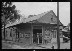 Morgan City, Louisiana - The Second Hand Store (done in rebus) ca Morgan City, Second Hand Stores, Vintage Pictures, Louisiana, Gazebo, Two By Two, Outdoor Structures, House Styles, 1930s
