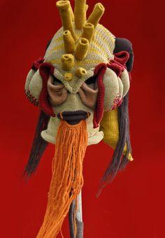 Headhunter, yarn, 2012 (commissioned) Brutal Knitting