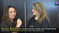 #soniabenezra #salondeleveil2016 #conference #suziematte #smattevideowebmedia #leportailzen Conference, Zen, Dreadlocks, Hair Styles, Beauty, Portal, Hair Plait Styles, Hair Makeup, Hairdos