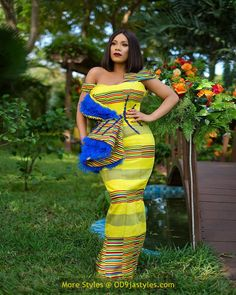 latest ankara gown styles - African Prints Styles Latest Ankara Gown Styles 2020 6 608x760 - 40 Pictures – New and Stylish African Prints Styles: Latest Ankara Gown Styles 2020 - photo