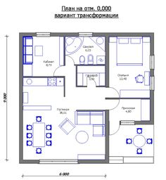 House plans affordable 34 Ideas for 2019 Craftsman Floor Plans, Small House Floor Plans, Cottage Floor Plans, Affordable House Plans, House Plans Mansion, Le Logis, Tiny House Loft, Small House Exteriors, Loft Room