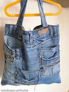 Gallery.ru / Фото #59 - Не выбрасываете старенькие джинсы! - Irina-ih