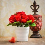 Arranjo de Rosas Vermelhas | Formosinha Decorações