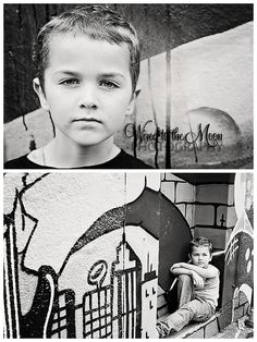 Wired To The Moon Photography urban boy graffiti