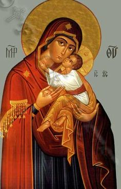 Theotokos Tenderness from Dingman Iconography Gallery