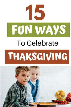 Thanksgiving season is upon us! Learn the 15 ways you can make Thanksgiving super fun this year. Why not make Thanksgiving a holiday to remember this year with these fun ideas? Fun Thanksgiving Games, Charlie Brown Thanksgiving, Thanksgiving Day Parade, Thanksgiving Celebration, Thanksgiving Traditions, Family Traditions, Book Themes, Fun Ideas, Traditional