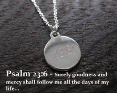psalm necklace adult baptism gift psalm by NovelaNoveltyNotions, $46.95