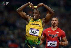 New world record and 3rd gold for Bolt in London.
