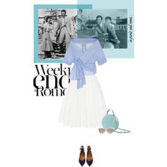 When in Rome - Inspired by Audrey Hepburn...