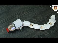 How to make a Snake Robot - Obstacle Avoiding Robot - YouTube
