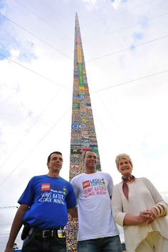 Lego Tower- Whether it be the world's largest LEGO tower in San Paulo or Minifig, as long as the factories continue churning out those colorful bricks, they sky is the limit. Continue reading to see five of the largest LEGO creations ever.