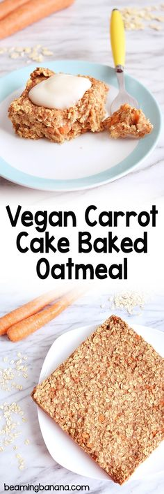 Vegan carrot cake ba