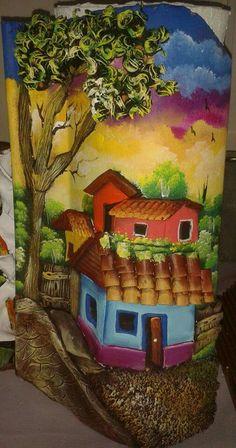 309 mejores im genes de tejas pintadas en 2017 pintar decorar tejas y tejidos - Pintar tejas de barro ...