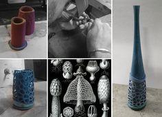 Collaboration with a jeweler / Parametric design Noncommun Design Studio