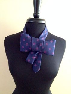 Bow tie necklace  on Etsy, $5.00