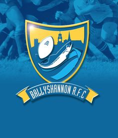 Ballyshannon Rugby Club Logo. Design: Padraic Lynch 2004 Rugby Club, Lynch, Design Projects, Disney Characters, Fictional Characters, Logo Design, Lost, Fantasy Characters